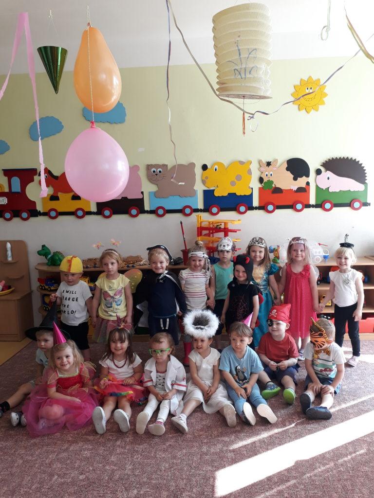 Karneval na Mezinárodní den dětí