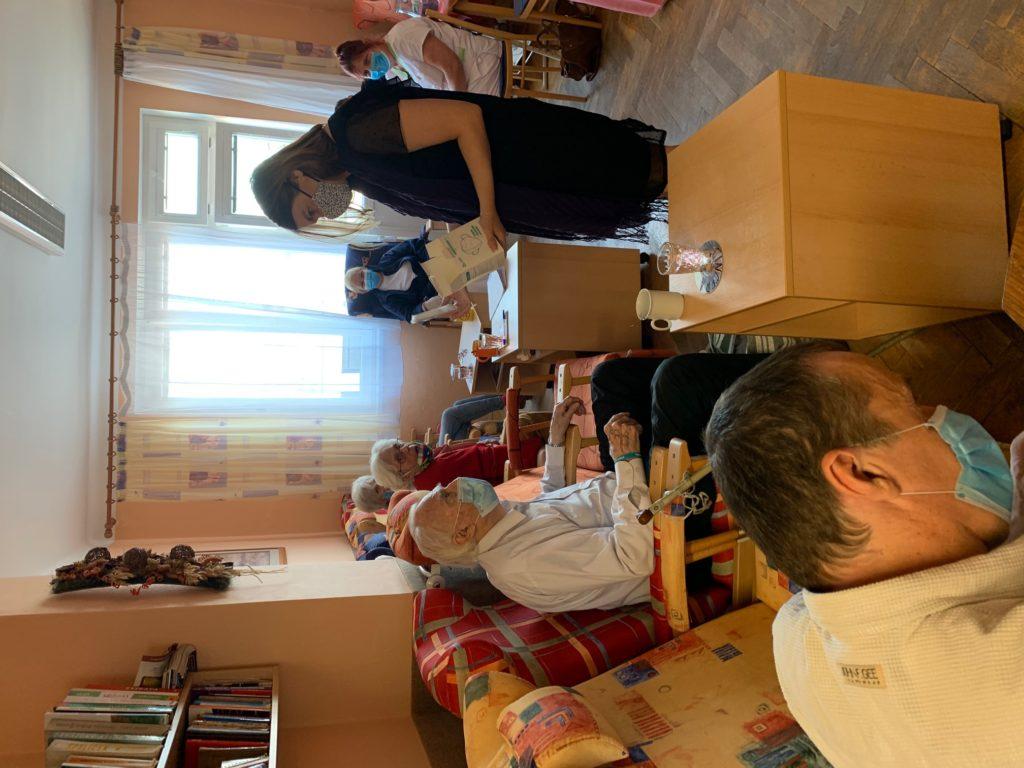 Návštěva z MPSV v našem Denním stacionáři