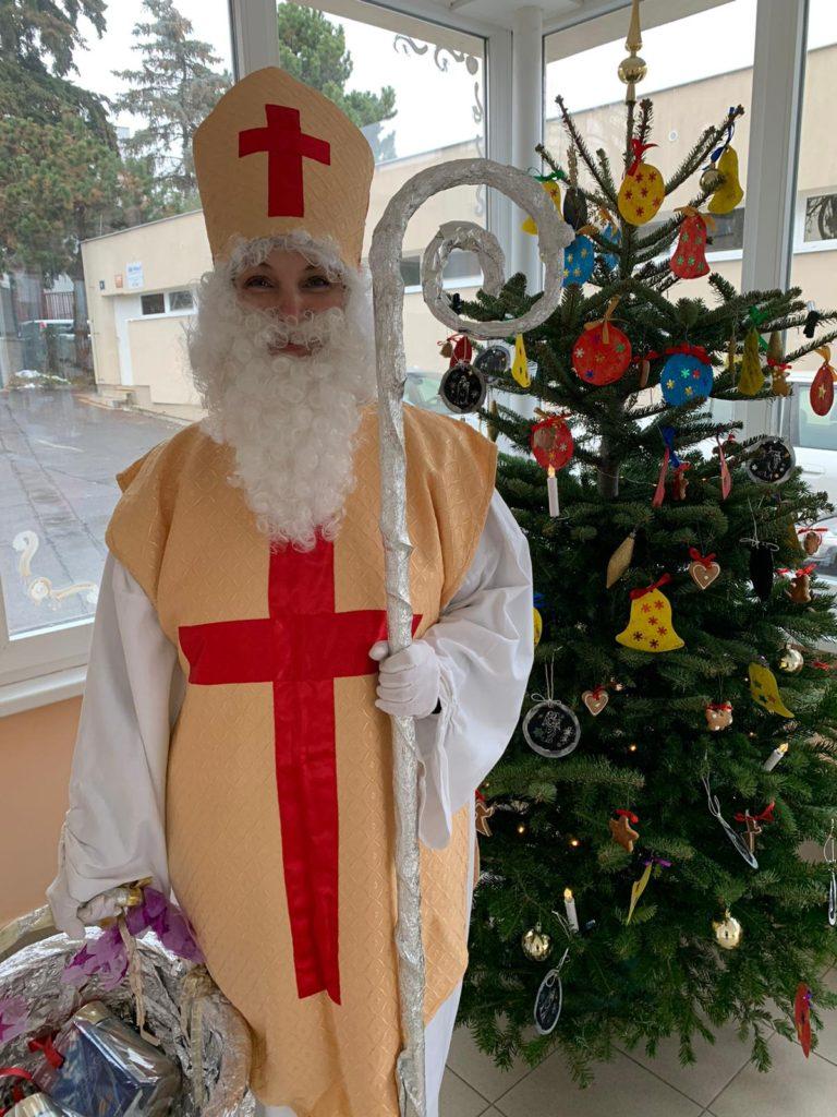 Mikulášská nadílka v Jeslích a v Domě sociálních služeb